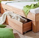 Relita Bett, buche, Natur gelt